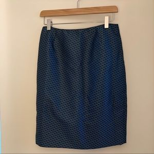 Embroidered print skirt (size 4)